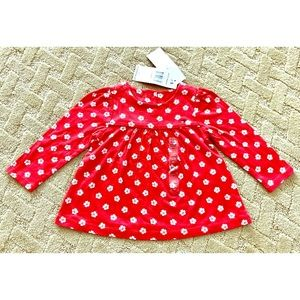 Tommy Hilfiger Baby Girls Long Sleeves Floral Top